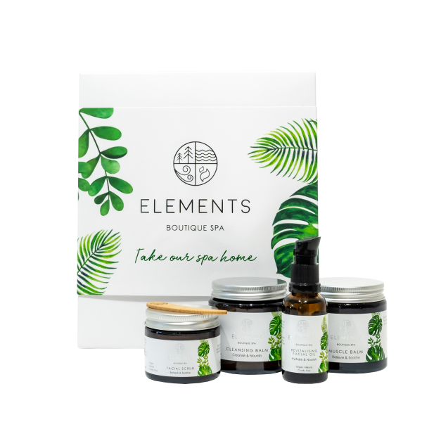 revitalise and replenish elements boutique spa gift box christmas