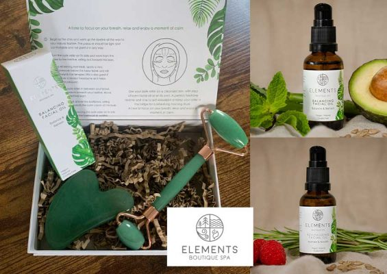 Facial oils and our jade roller routine